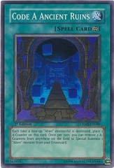 Code A Ancient Ruins - CRMS-EN088 - Super Rare - 1st Edition on Channel Fireball