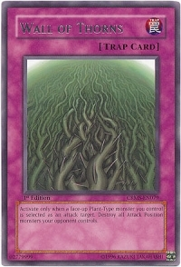 Wall of Thorns - CRMS-EN079 - Rare - 1st Edition