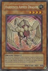 Hardened Armed Dragon - RGBT-EN083 - Secret Rare - 1st Edition