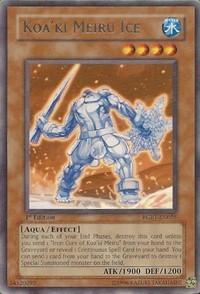 RGBT EN081 1ST ED KOA KI MEIRU WAR ARMS SUPER RARE