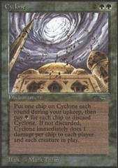 Cyclone on Channel Fireball