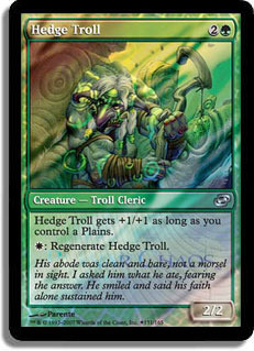 Hedge Troll - Foil - Launch Promo
