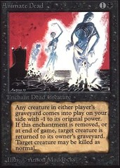 Animate Dead (Not Tournament Legal)