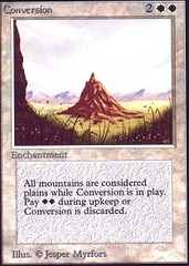 Conversion (Not Tournament Legal)