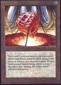 Mana Vault (Not Tournament Legal)