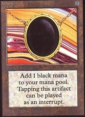 Mox Jet (Not Tournament Legal)