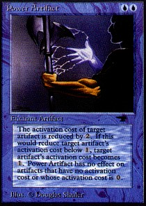 Power Artifact (RL)