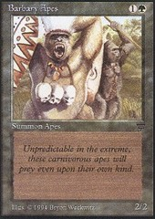 Barbary Apes on Channel Fireball
