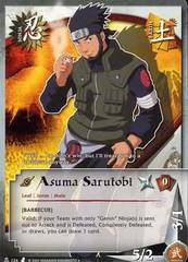 Asuma Sarutobi - N-124 - Uncommon - 1st Edition