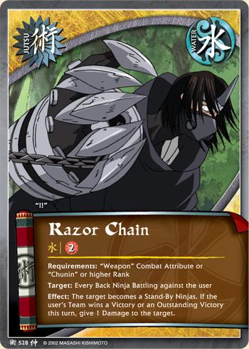 Razor Chain - J-528 - Common - 1st Edition