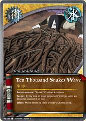 Ten Thousand Snakes Wave - J-521 - Uncommon - 1st Edition