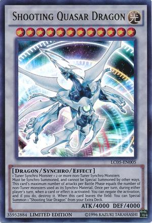 Shooting Quasar Dragon - LC05-EN005 - Ultra Rare - Limited Edition