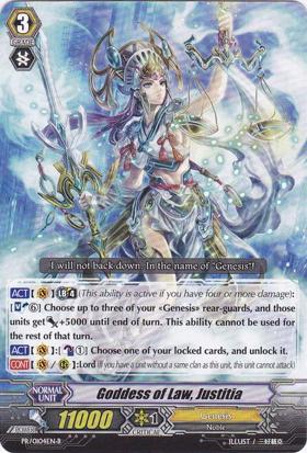 Goddess of Law, Justitia - PR/0104EN-B - PR