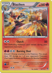 Blaziken - 14/111 - Holo Rare on Channel Fireball