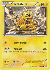 Electabuzz - 29/111 - Common on Channel Fireball