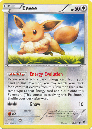 Eevee - 80/111 - Common