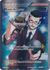 Battle Reporter - 109/111 - Full Art Ultra Rare