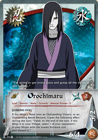 Orochimaru - N-353 - Super Rare - 1st Edition - Foil
