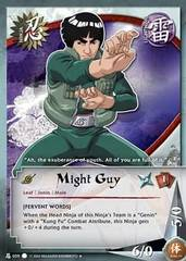 Might Guy - N-039 - Uncommon - 1st Edition