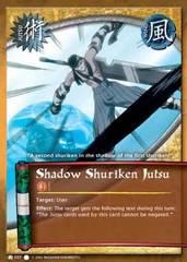 Shadow Shuriken Jutsu - J-037 - Common - 1st Edition