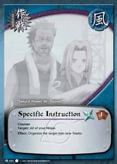 Specific Instruction - M-037 - Common - 1st Edition