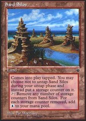Sand Silos on Channel Fireball