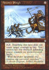 Arcum's Sleigh on Channel Fireball