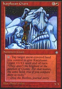 Karplusan Giant