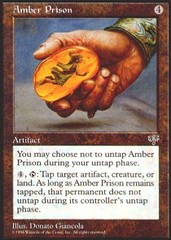 Amber Prison on Channel Fireball