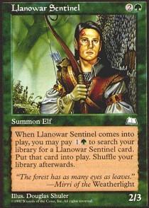 Llanowar Sentinel