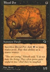 Blood Pet on Channel Fireball