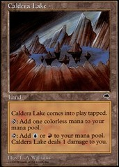 Caldera Lake on Channel Fireball