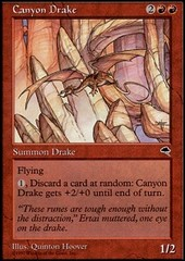 Canyon Drake on Channel Fireball