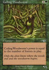 Coiling Woodworm on Channel Fireball