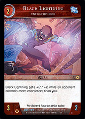 Black Lightning, Energetic Hero