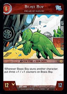Beast Boy, Freak of Nature