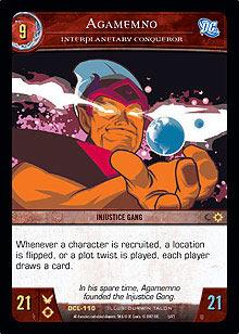 Agamemno, Interplanetary Conqueror