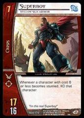 Superboy, Yellow Sun Armor