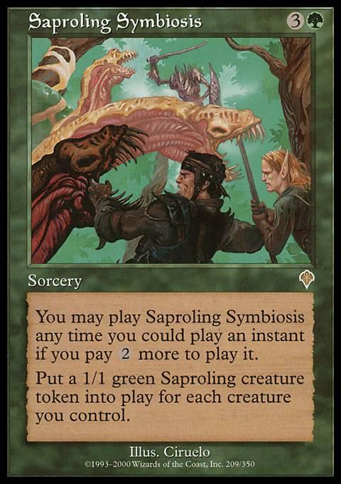 Saproling Symbiosis