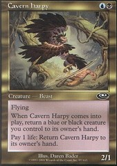 Cavern Harpy on Channel Fireball
