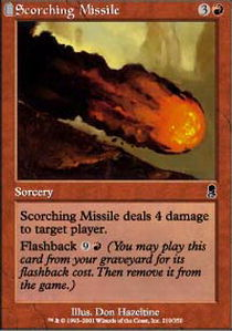 Scorching Missile