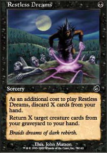Restless Dreams - Magic the Gathering Singles » Odyssey