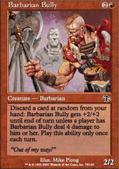 Barbarian Bully on Channel Fireball