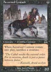 Accursed Centaur on Channel Fireball