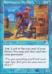 Rummaging Wizard on Channel Fireball
