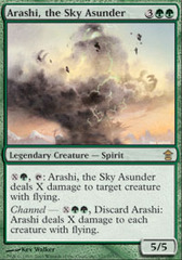 Arashi, the Sky Asunder on Channel Fireball