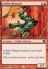 Goblin Brigand on Channel Fireball