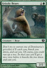 Grizzly Bears on Channel Fireball