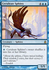Cerulean Sphinx on Channel Fireball