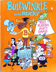 Bullwinkle and Rocky Role Playing Party Game